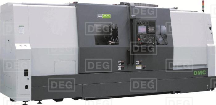 Токарный станок с ЧПУ DMC DL 55M