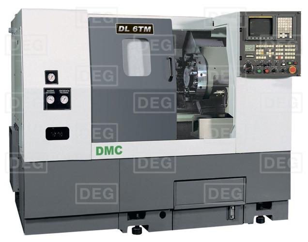 Токарный станок с ЧПУ (Turret LM type) DMC DL 8TMH